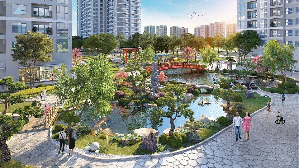 Công viên nội khu the zenpark