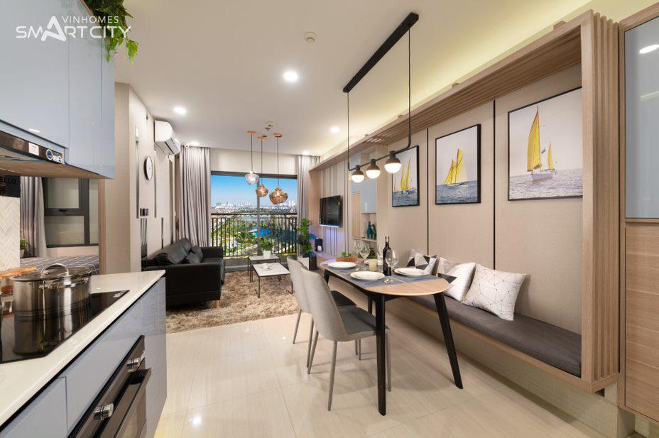 Nhà mẫu chung cư Vinhomes Smart City