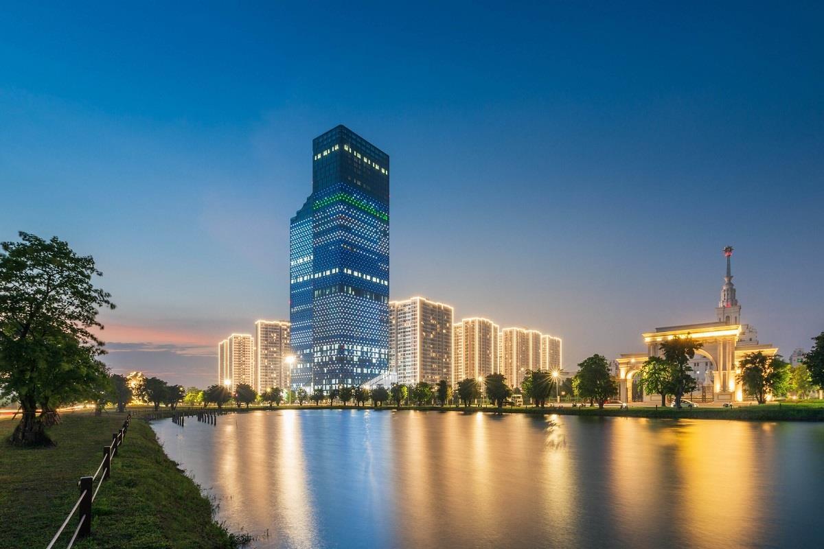 tòa tháp văn phòng techno park tower
