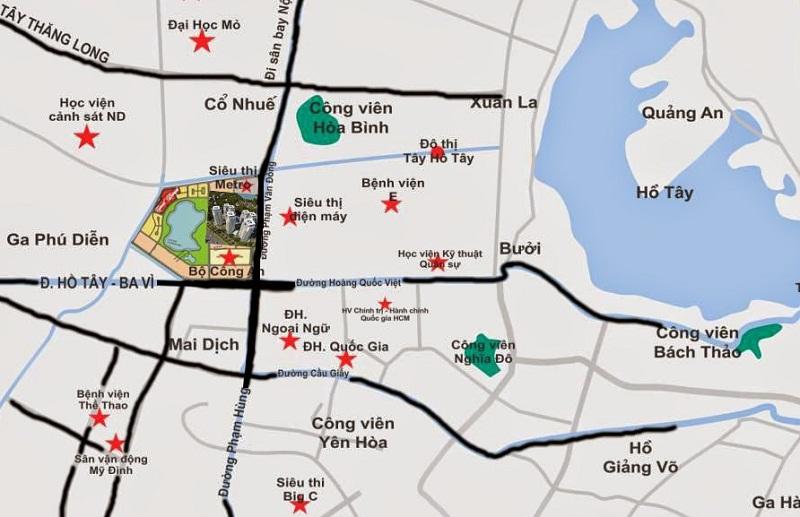 Kết quả hình ảnh cho vị trí chung cư an bình city